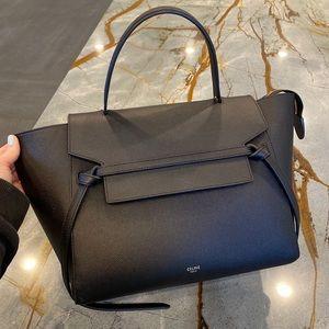 Celine Belt Bag in Black